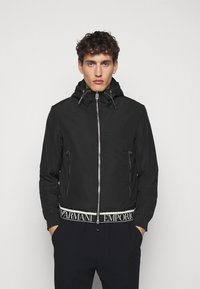 Emporio Armani - Light jacket - black - 0