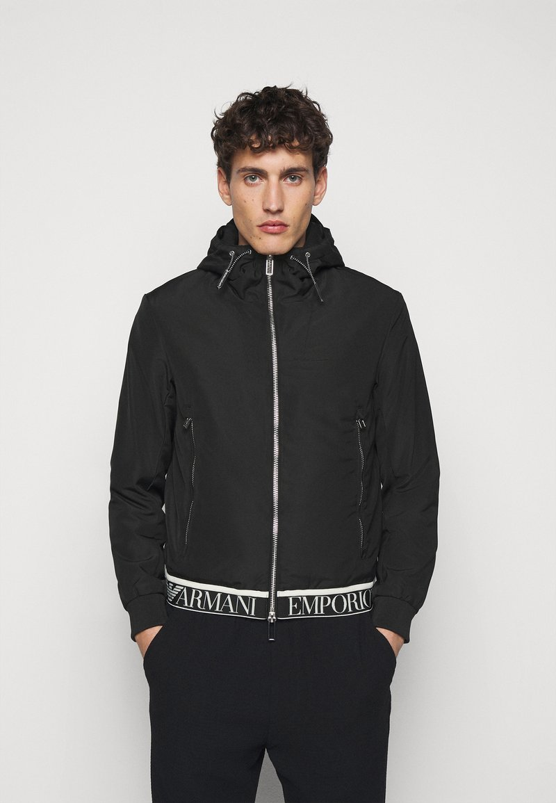 Emporio Armani - Light jacket - black