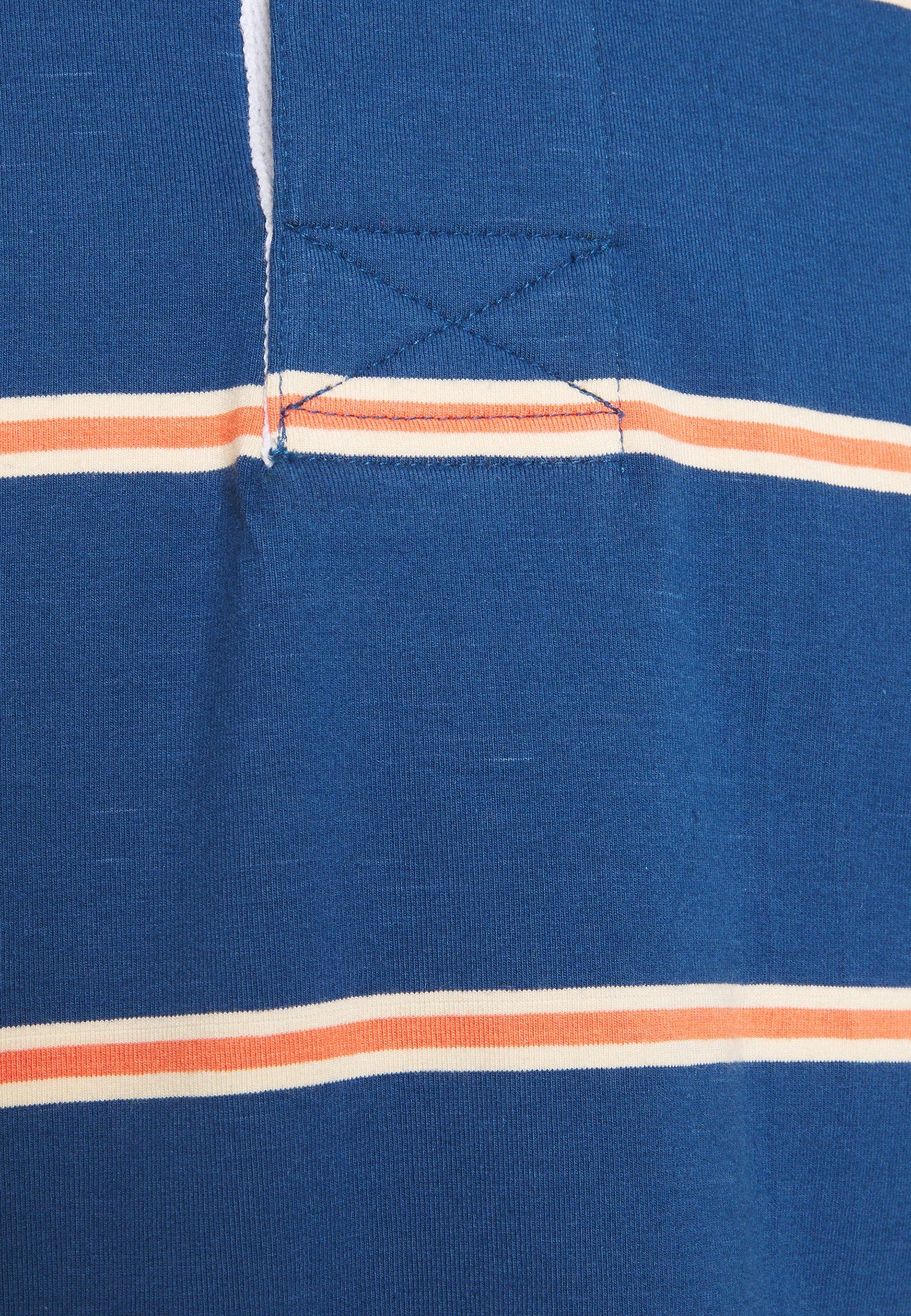Men BENITO RUGBY OPTIC STRIPE - Polo shirt