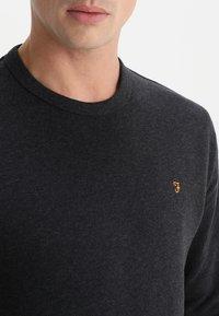 Farah - TIM CREW - Sweatshirt - black marl - 3