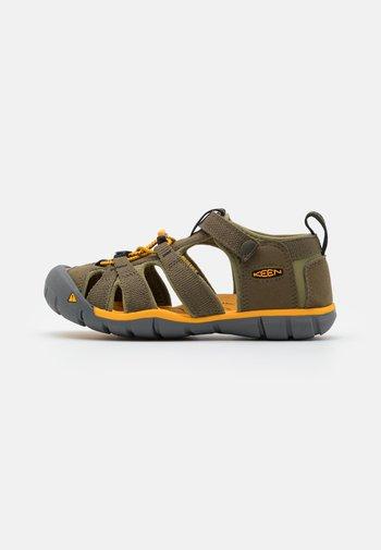 SEACAMP II CNX UNISEX - Walking sandals - military olive/saffron