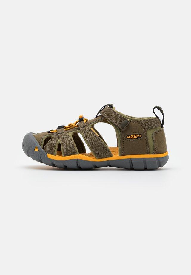 SEACAMP II CNX UNISEX - Sandales de randonnée - military olive/saffron