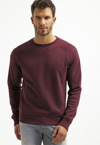 Pier One - Sweatshirt - bordeaux melange - 0