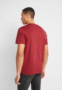 TOM TAILOR - BASIC T-SHIRT 3 PACK - Print T-shirt - blue - 3