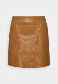 ONLY - ONLNAYA SKIRT - Mini skirt - toasted coconut - 0