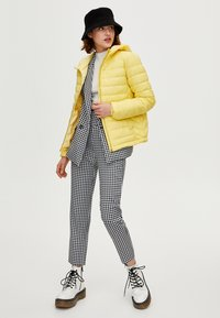 PULL&BEAR - Winter jacket - yellow - 1