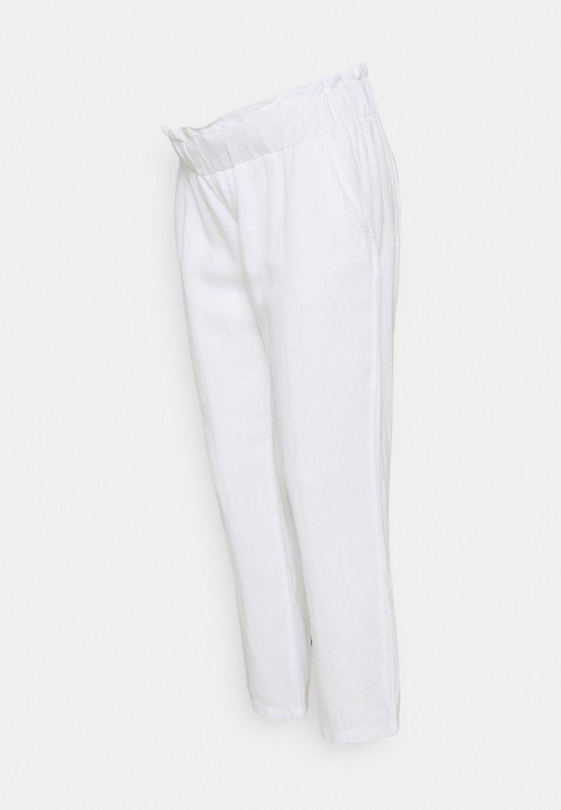 LOVE2WAIT - PANTS - Pantalon classique - white