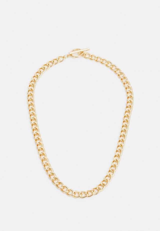 CHAIN BAR - Naszyjnik - gold-coloured