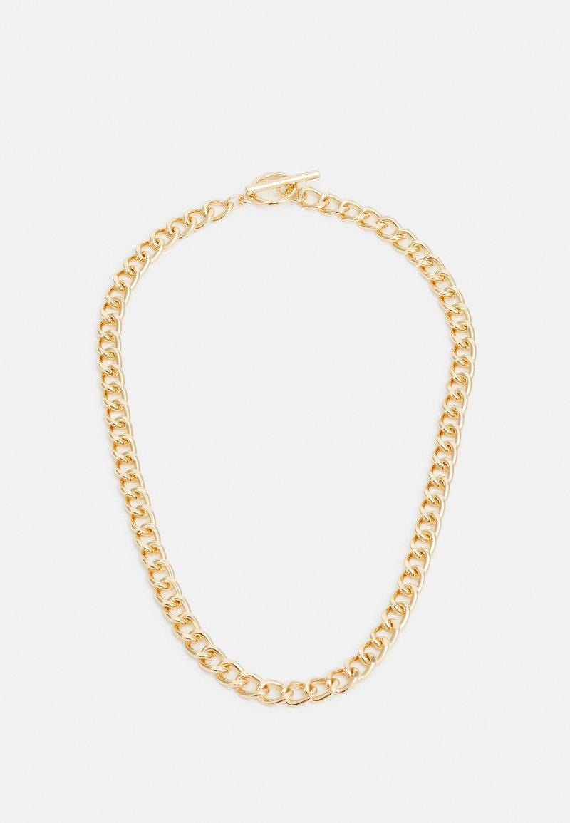 Topshop - CHAIN BAR - Náhrdelník - gold-coloured