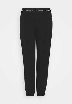 ELASTIC CUFF PANTS  - Tracksuit bottoms - black