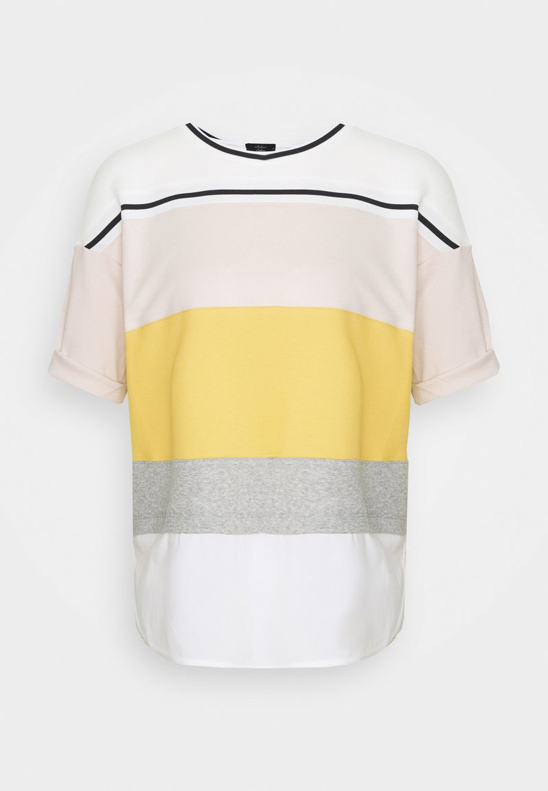 Marc Cain - Print T-shirt - honey mustard