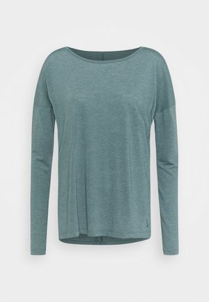 YOGA LAYER - Treningsskjorter - hasta/heather/light pumice/dark teal green