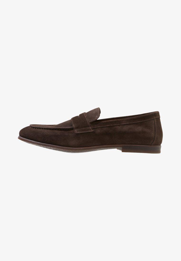 Doucal's - PENNY LOAFER - Elegantní nazouvací boty - moro