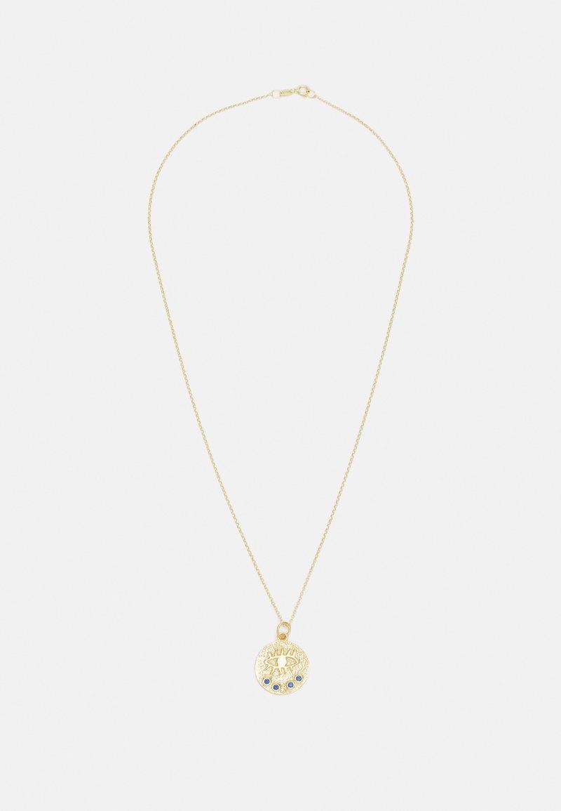 Hermina Athens - KRESSIDA SMALL PENDANT - Necklace - dark blue