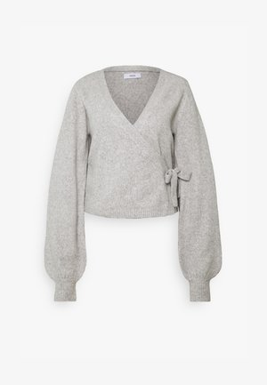 ENSOYA  - Cardigan - light grey