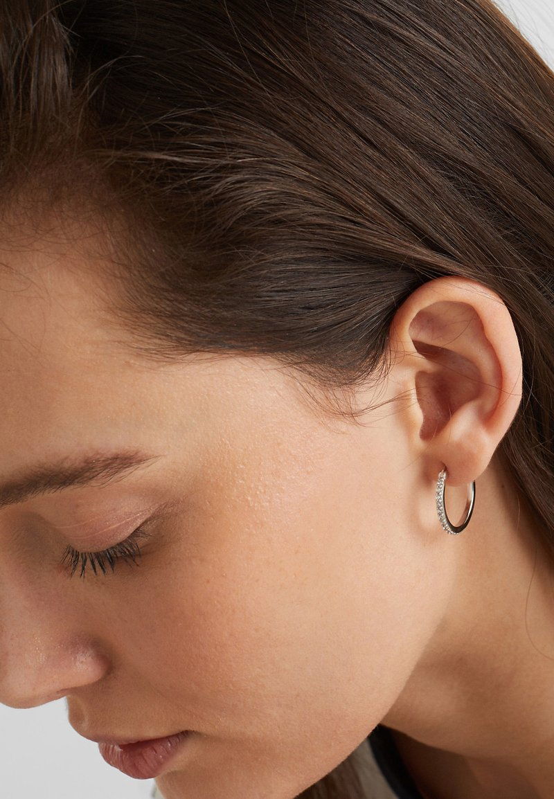 Esprit - CREOLES - Earrings - silver-coloured