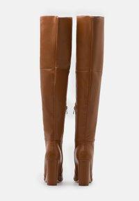 RAID - GRESHA - High heeled boots - tan - 3