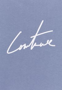 The Couture Club - WITH OVERSIZED PUFF PRINT - T-shirt print - blue - 2