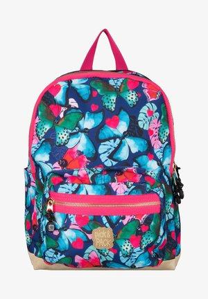 BEAUTIFUL BUTTERFLY - School bag - navy