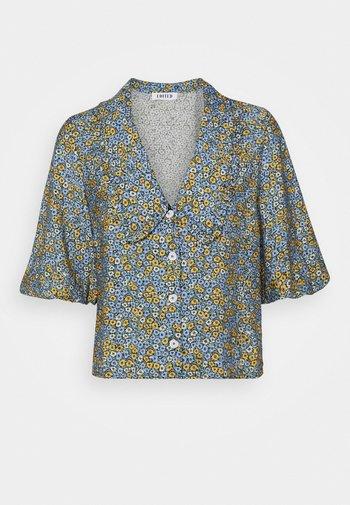 SELENE BLOUSE - Button-down blouse - multicolor