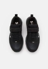 Under Armour - ASSERT 8 UNISEX - Neutral running shoes - black - 3