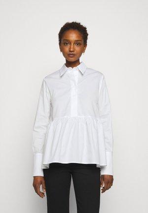 FLOUNCE HEM - Košile - white