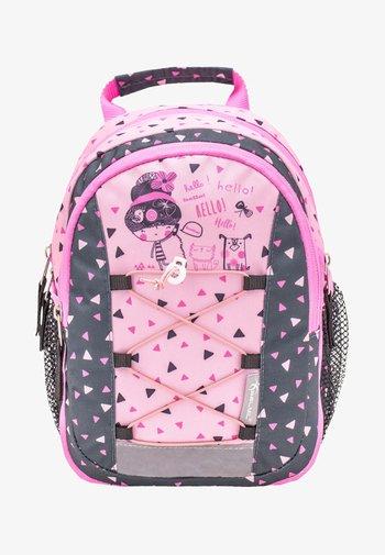 MINI KIDDY - Rucksack - black  light pink