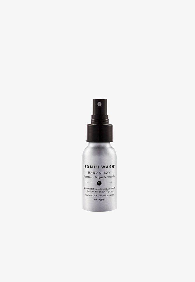 DESINFEKTIONSSPRAY HAND SPRAY TASMANIAN PEPPER & LAVENDER - Liquid soap - -