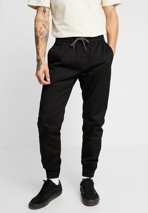 FRICKN MDRN TAP JGR  - Trousers - black
