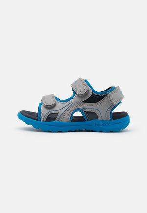 VANIETT BOY - Walking sandals - grey/light blue