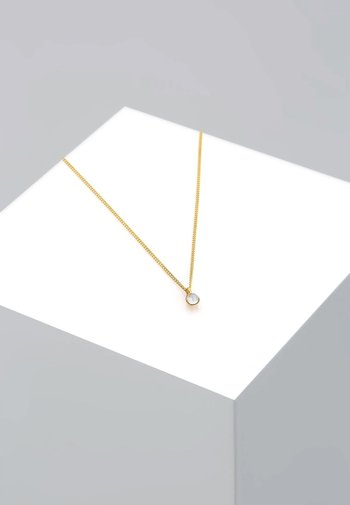 MOONSTONE ASTRO - Necklace - gold coloured