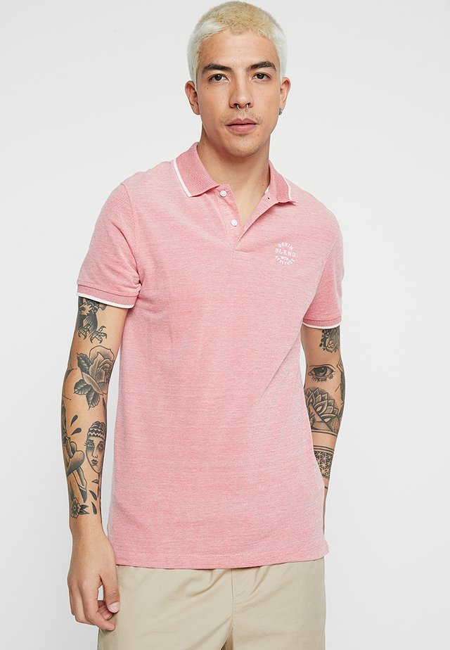 Polo shirt - mineral red