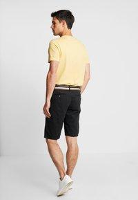 INDICODE JEANS - ROYCE - Shorts - black - 2