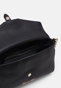 Calvin Klein - FLAP CROSSBODY - Across body bag - black - 2