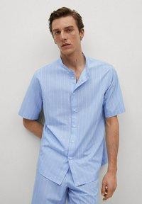 Mango - Pyjama top - blauw - 2