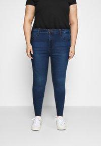 Noisy May Curve - NMCALLIE - Jeans Skinny Fit - medium blue denim - 0