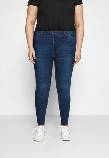 NMCALLIE - Jeans Skinny Fit - medium blue denim
