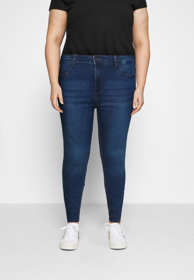 NMCALLIE - Skinny džíny - medium blue denim