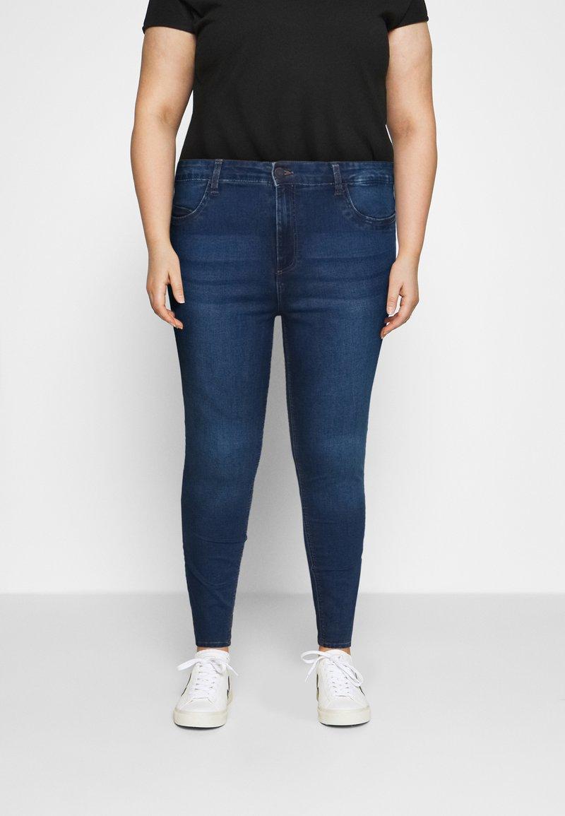 Noisy May Curve - NMCALLIE - Jeans Skinny Fit - medium blue denim
