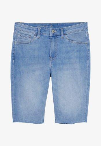 Denim shorts - denim-blue