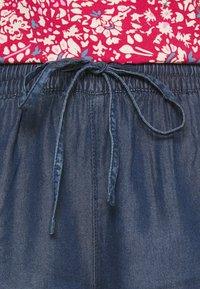 ONLY - ONLPEMA LIFE - Shorts - dark blue denim - 4