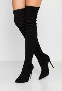 Steve Madden - DADE - High heeled boots - black - 0