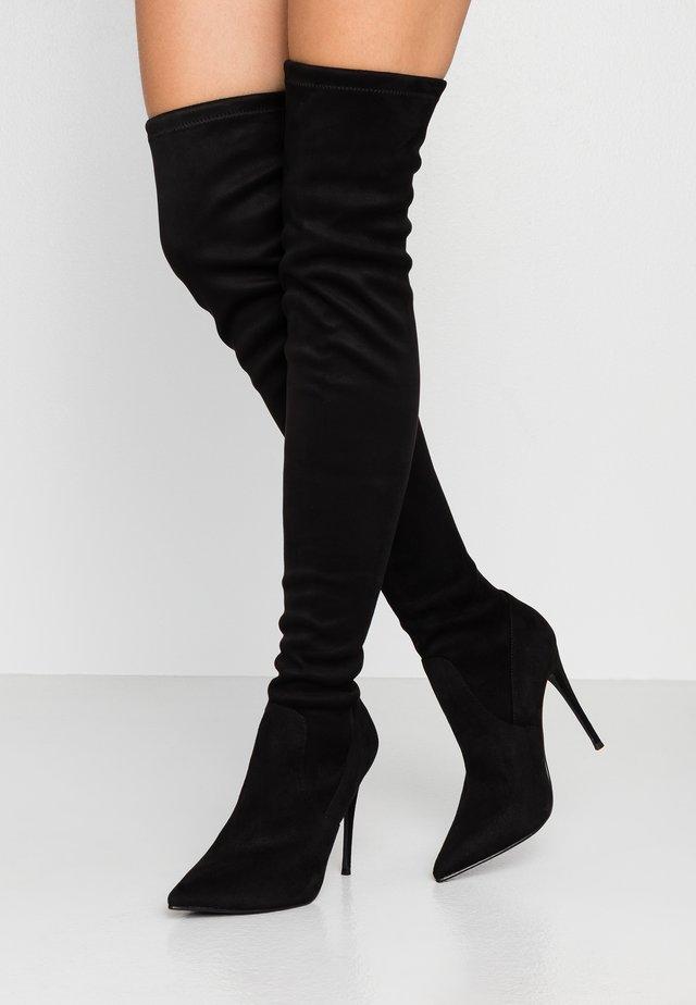 DADE - Stivali con i tacchi - black