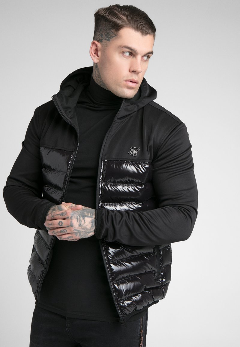 SIKSILK - NEO BUBBLE JACKET - Jas - black