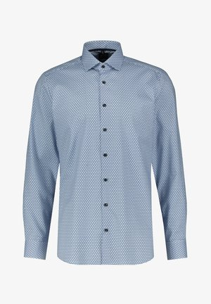LEVEL FIVE HERREN SLIM FIT LANGARM - Shirt - bleu (50)