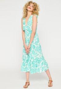 LolaLiza - Maxi dress - turquoise - 0
