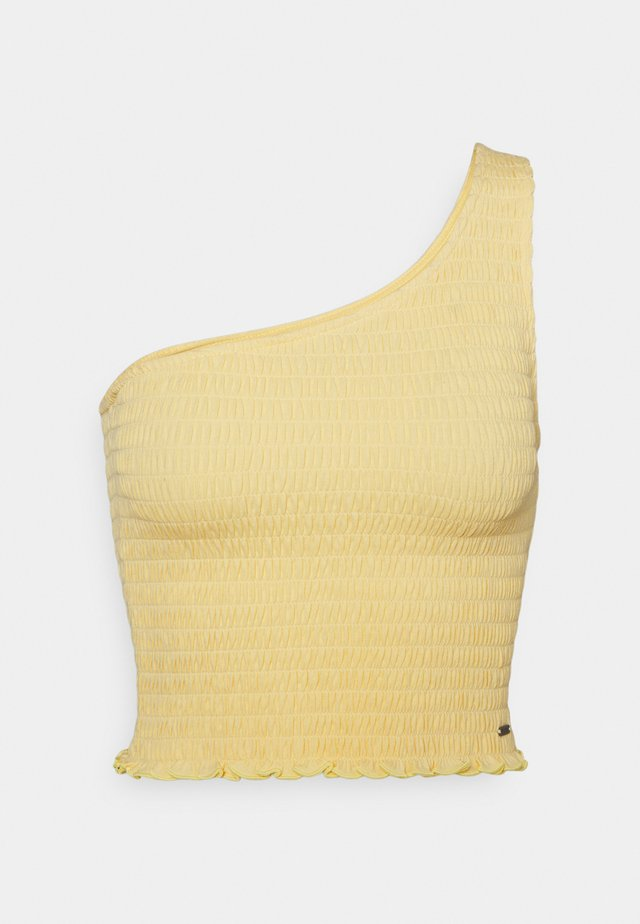 ONE SHOULDER  - Toppe - yellow