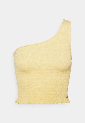 ONE SHOULDER  - Top - yellow