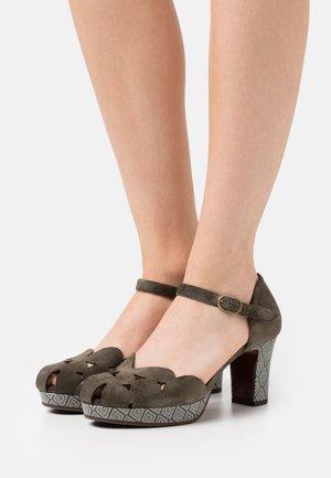 MACEL - Classic heels - zeus mili/mayson grey