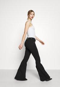 Diesel - BLESSIK  - Flared Jeans - black - 3